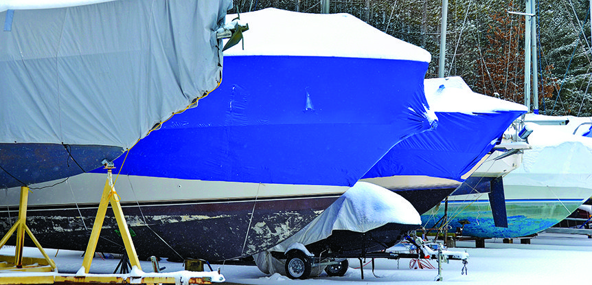 Make a winterizing list for your boat
