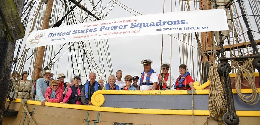 USPS sails tall with Tall Ships