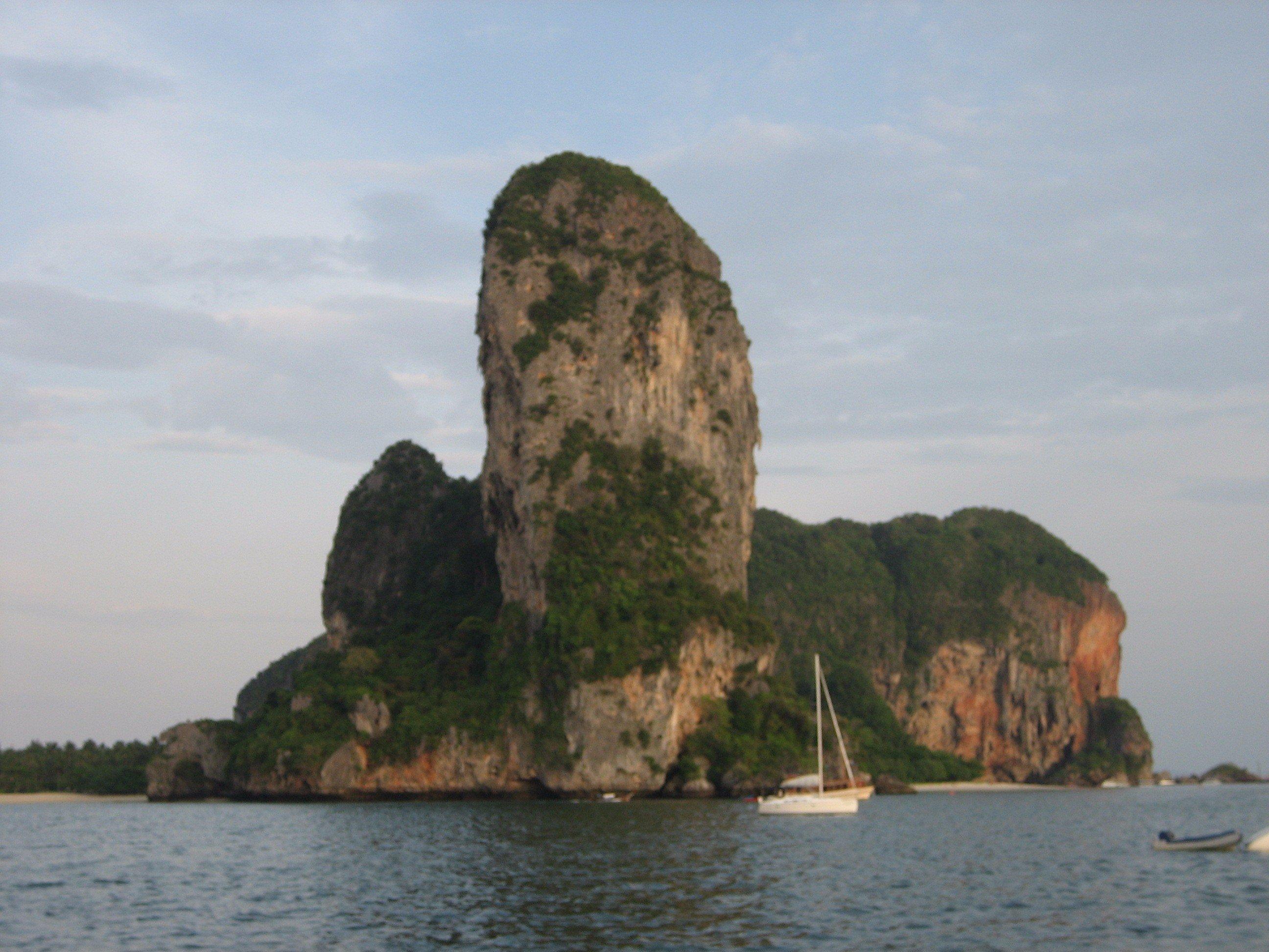 Anchored near a hong