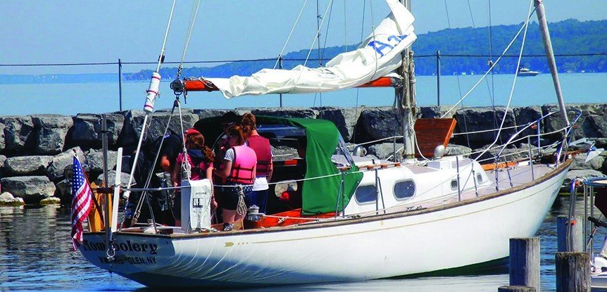 Recruiting new members with Junior Sailing