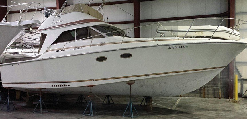 Preserve your fiberglass hull