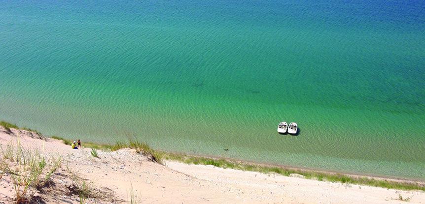 Sea Rays trek to Sleeping Bear Dunes