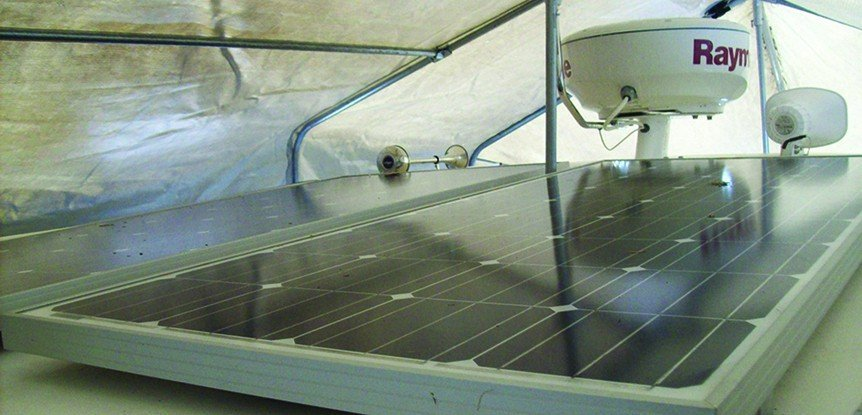 Add solar panel to your trawler