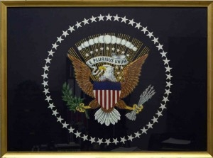 U.S. presidental flag