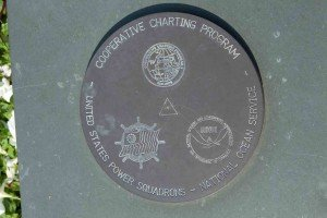 USPS-NOAA geodetic mark