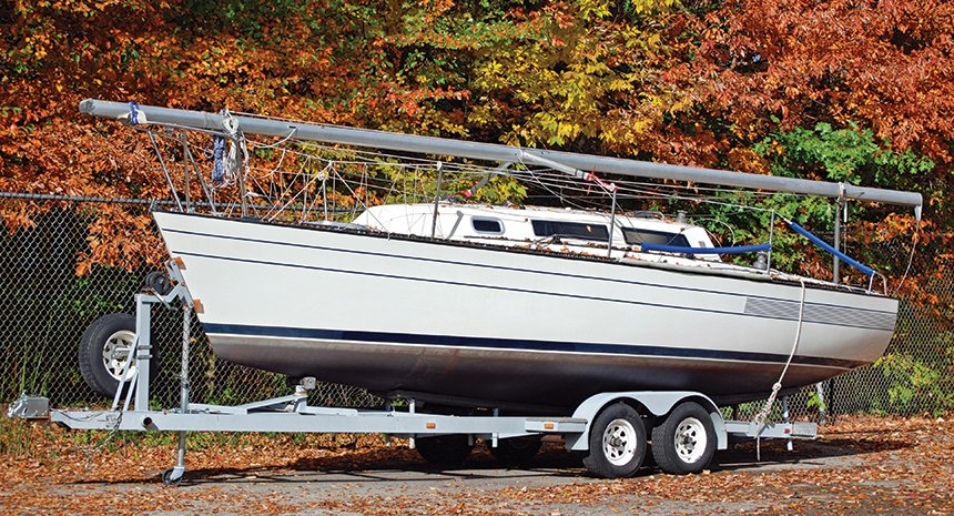 Winterize your boat and trailer