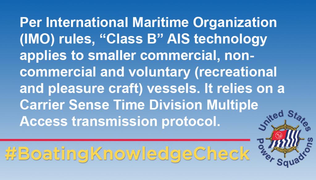 Class B AIS technology