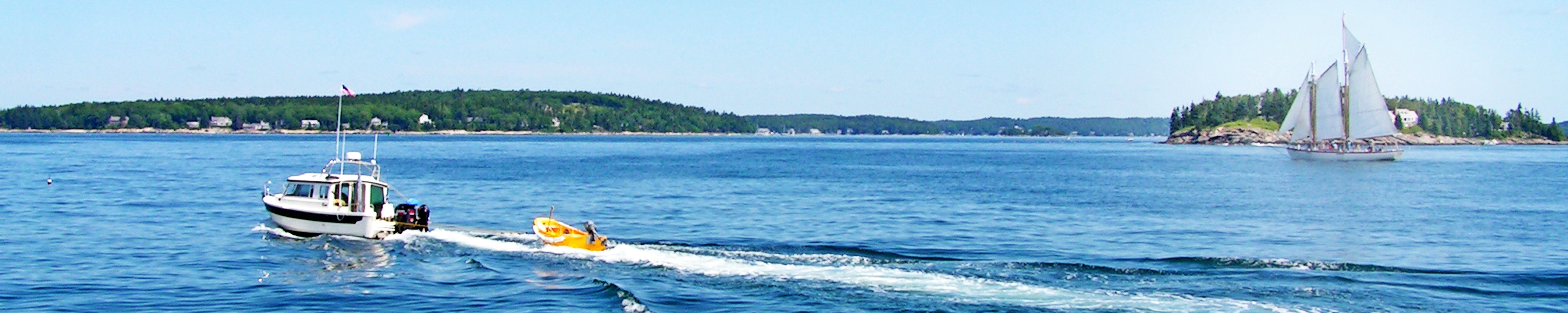 Fourth place in 2017 Natutical Delights photo contest depicts East Penobscot Bay, Maine.