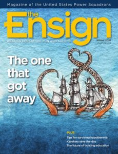 Cover image of The Ensign Winter 2018 issue. View online now.