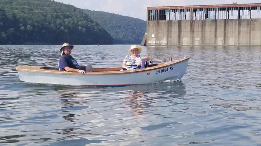 Building an Electric Boat Aquatron at Hales Bar