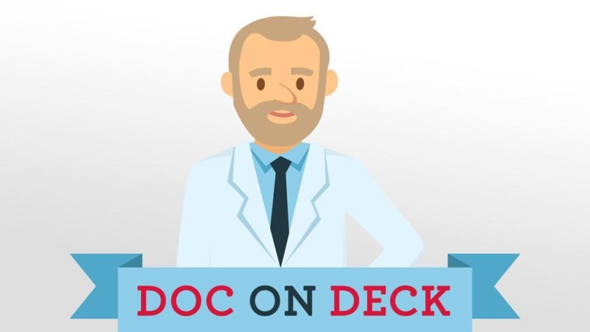 Dock on deck logo