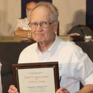 Photo of Donald Duncan Chapman Winner