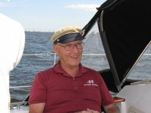 Don Baker sailing