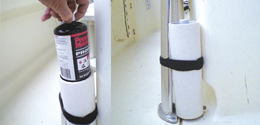 DIY inexpensive propane storage