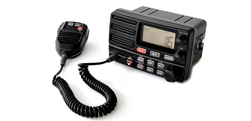 Equip your boat with a marine radio