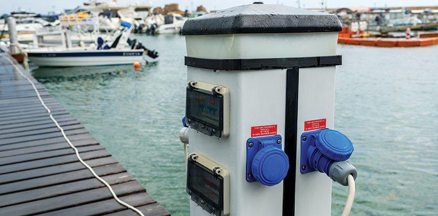 DIY shore power test adapater