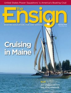 Cover of The Ensign Spring 2018 issue. Read online now.
