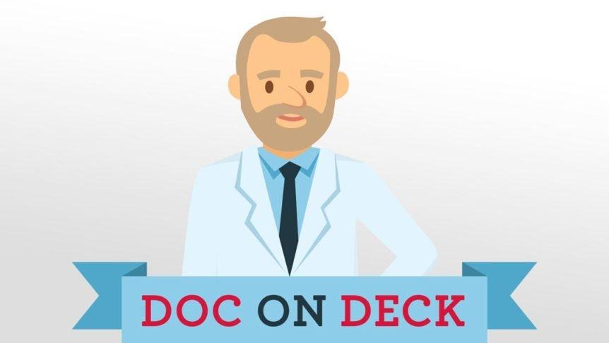Dock on deck logo