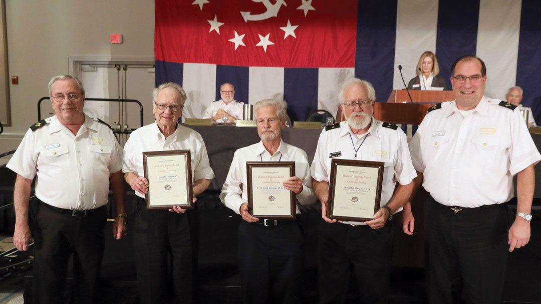 Photo of 2018 Charles F. Chapman Award Recipients