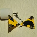 DIY bird deterrent step 1