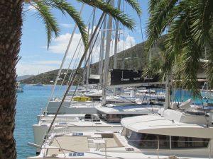 BVIs Dream Yacht Charter Base Photo