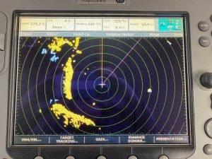 Figure 3: Radar screen view