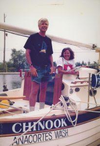 John and Carol on Chinook