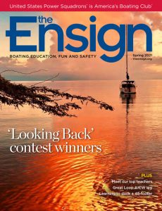 The Ensign Spring 2021 cover image and link to online issue