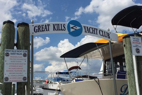America's Great Loop Part Six Great Kills Yacht Club on New York's Staten Island